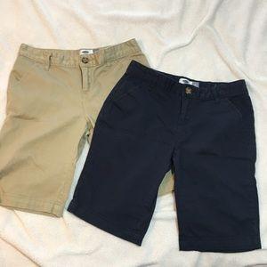 Girls Old Navy Uniform Shorts